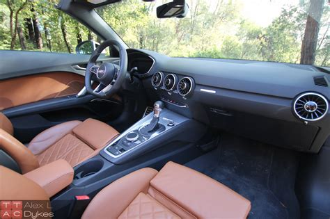 Audi Tt Interior by 2016 Audi Tt Roadster Interior 003 The Truth About Cars