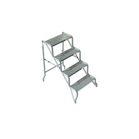 scala sgabello scala sgabello zincato richiudibile 4 gradini bettiga srl