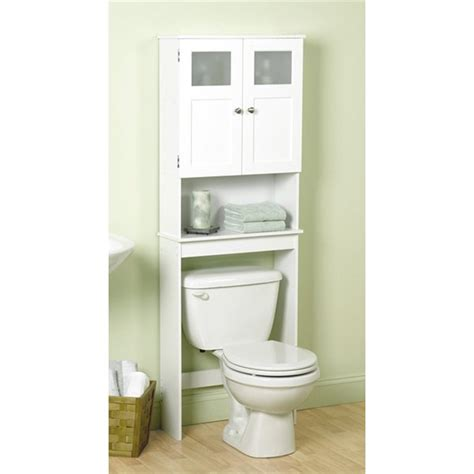 Zenith Bathstyles Spacesaver Bathroom Storage The Toilet Shelf Pearl Nickel Ebay Zenith Products 9819wwbb Space Saver Cabinet Atg Stores