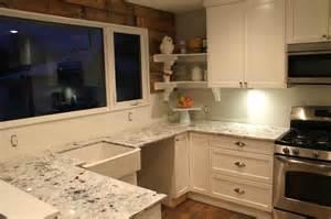 Kitchen Granite Overlay Concrete Overlay Countertop Reveal Joyfully Home