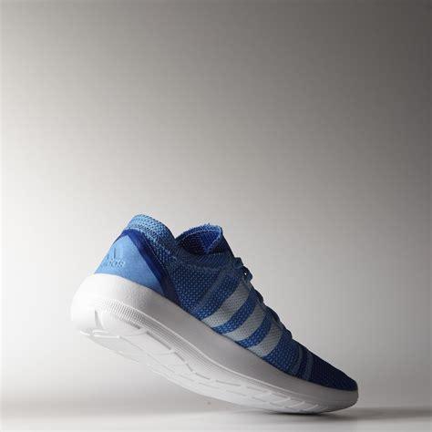 adidas element refine adidas mens element refine tricot running shoes blue