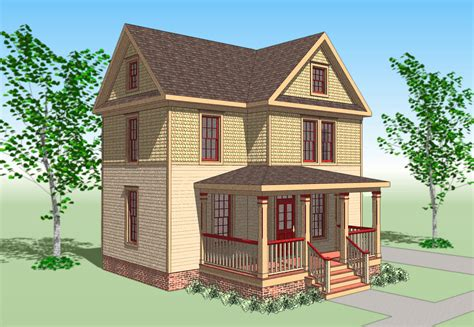 Authentic Victorian House Plans by Early 1900s Style House Plans