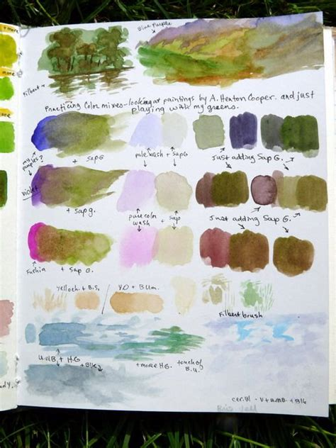 watercolor mixing tutorial 4505 best watercolor 1 images on pinterest water colors