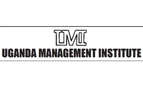 Umi Mba by Uganda Management Institute Umi Fee Graduate