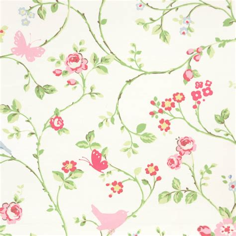 bird pattern fabric uk bird trail fabric chintz f0293 01 studio g vintage