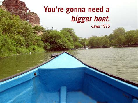 jaws bigger than boat jaws quotes bigger boat quotesgram
