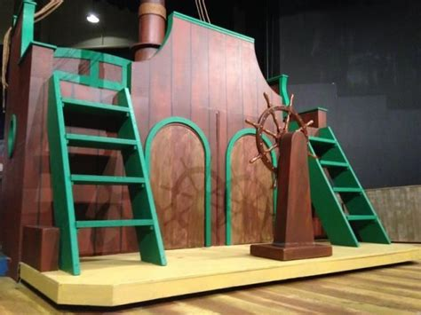 boat props for plays lilly theater pirate ship play props pinterest