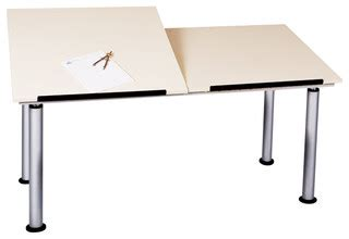 split top drafting table shain adjustable height split top drafting table