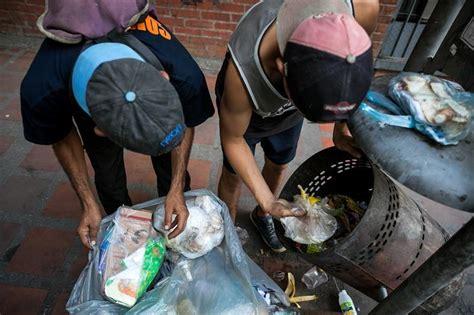 imagenes niños pobres ni 241 os salen a las calles de caracas a buscar la comida que