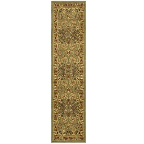 Gold Runner Rug Lr Resources Traditional Green And Gold Rug Runner 1 Ft 10 In X 7 Ft 1 In Plush Indoor Area