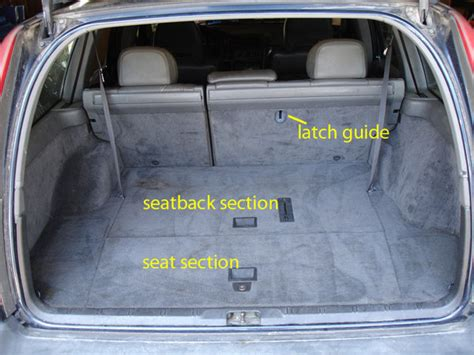 volvo xc90 3rd row seat removal third row seat remove install 850 wagon