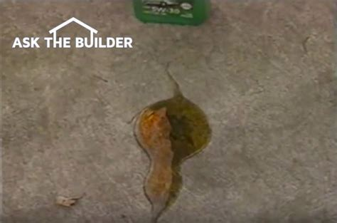 Remove Oil From Driveway With Soap & Oxygen Bleach
