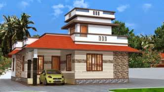 Design Home Design Of Three Bedroom 92 Sqm Home Kerala Home Design