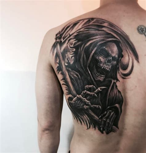 tattoo ideas grim reaper 95 best grim reaper designs meanings 2018