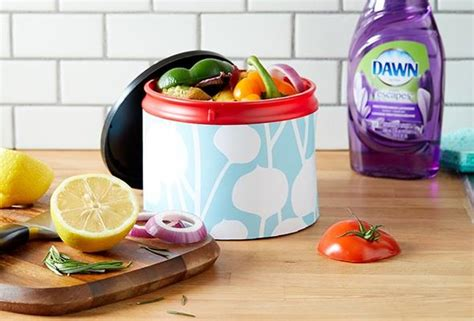 Waste Materials In Kitchen by Waste Not With A Diy Kitchen Compost Bin P G Everyday