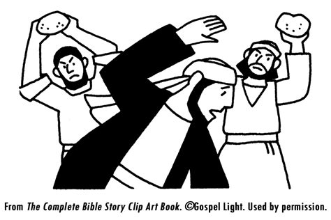 coloring pages bible stephen stoning of stephen big bad wolf lesson fairy tales