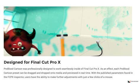 final cut pro animation pixel film studios set to release problood cartoon for