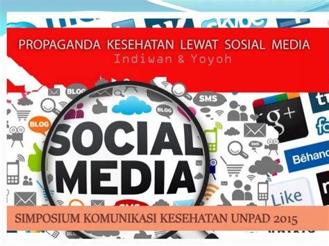 Buku Propaganda Media propaganda kesehatan lewat media sosial