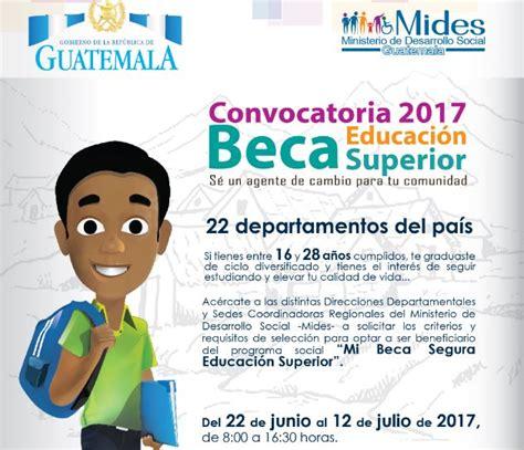 convocatoria docente universidad 2016 peru becas 2017 mides lanza la convocatoria de becas educaci 243 n superior