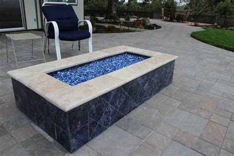 glass for firepit glass rock for pit pit design ideas