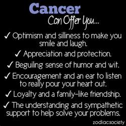 zodiac cancer quotes funny quotesgram