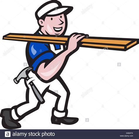 Wood Worker Cartoon Stock Photos Amp Wood Worker Cartoon