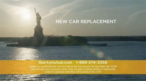 liberty mutual commercial actress accident forgiveness liberty mutual tv spot new car replacement and accident