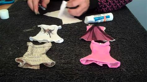 How To Make A Paper Doll Dress - quot how to make quot quot doll clothes quot quot dress quot quot