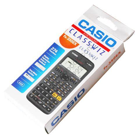 Casio Original 2 casio scientific calculator fx 350ex classwiz original