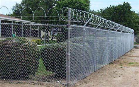 chain link security fence riverside ca iron security