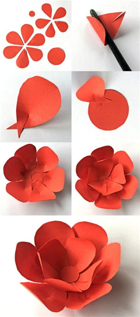 How To Make Paper Petals - flower crown headpiece cinco de mayo costume