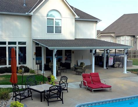 patio covers kits patio cover kits solid roof patio covers