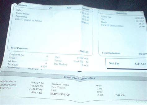 payslip template canada arne riise s wage slip
