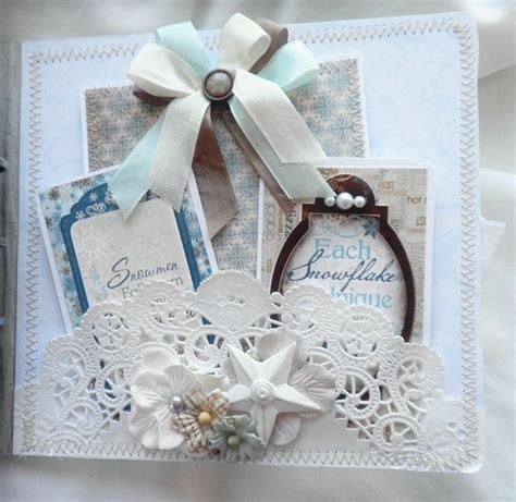 shabby chic craft ideas shabby chic paper lace winter
