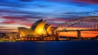 1366x768 opera house australia wallpaper