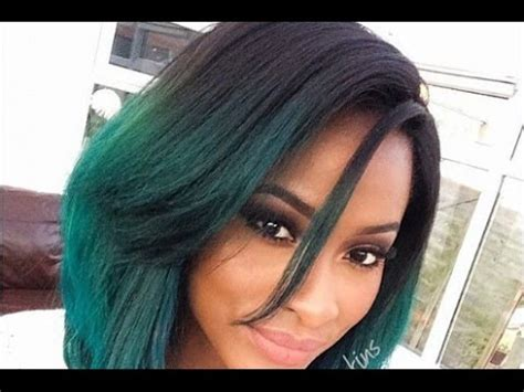 Long Layered Bob Hairstyles for Black Women   YouTube