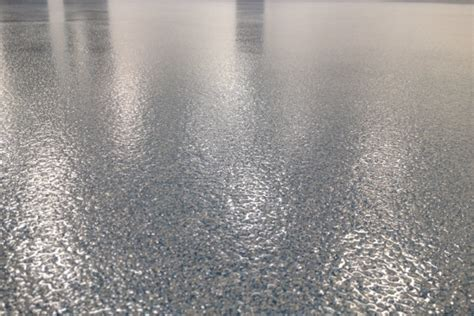 Quartz Epoxy Floor Installation in Metro Detroit   Great