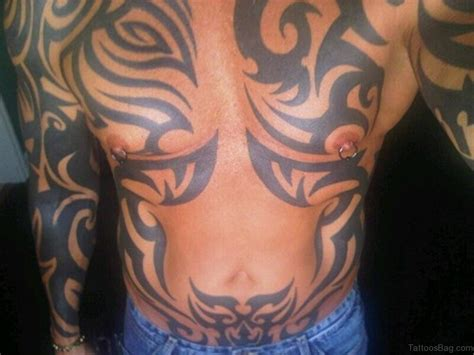 abdomen tattoos 46 magnificent tribal tattoos on stomach