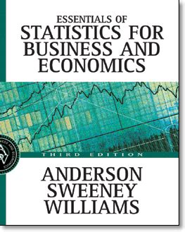 essentials of statistics for business and economics essentials of statistics for business and economics