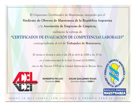 convenio maestranza 2016 sindicato maestranza paritaria 2016 sindicato de obreros