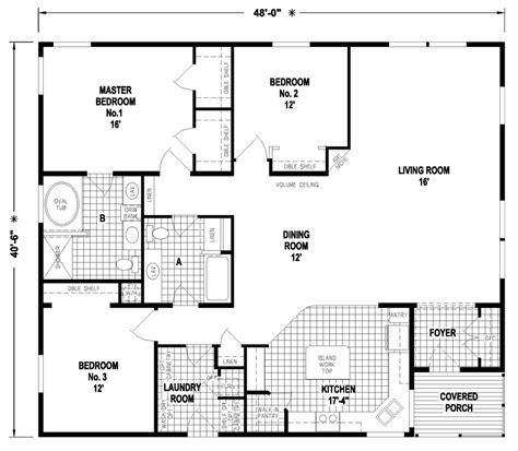 triple wide mobile home floor plans las brisas floorplan amazing triple wide mobile home floor plans new home