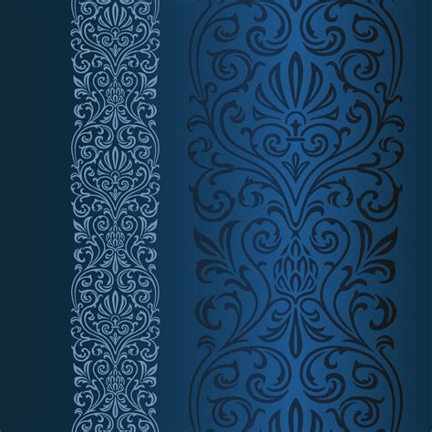 Pattern Blue Vector | blue pattern vector free vector graphic download