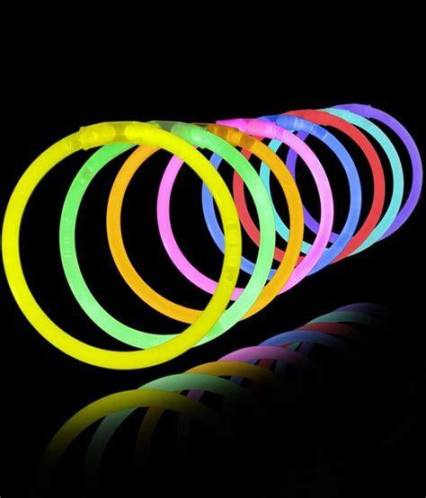 tootpado glow   dark sticks band bracelets