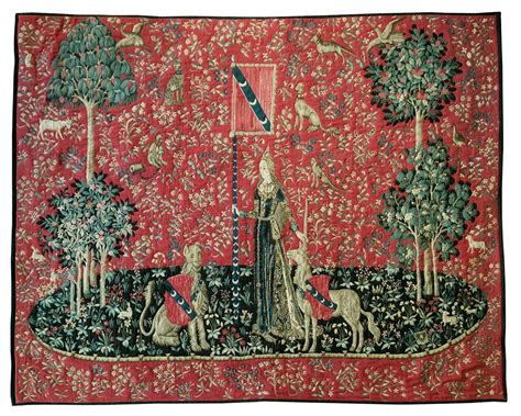 La Dame à La Licorne Tapisserie by Dame 224 La Licorne La Tapisserie