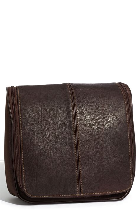 boconi hanging travel bag in brown for lyst