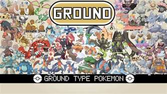 type ground all ground type pok 233 mon