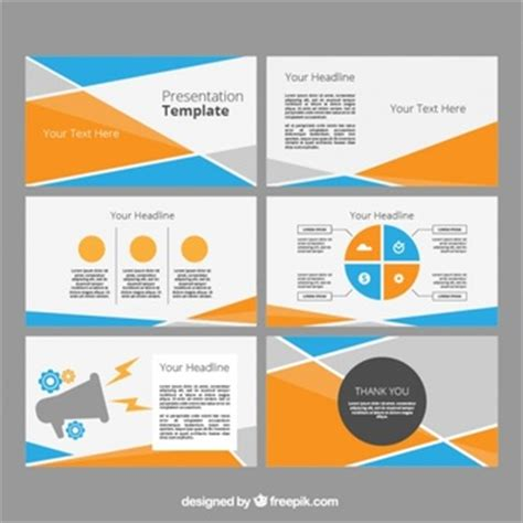 imagenes abstractas para power point business powerpoint templates pack vector free download