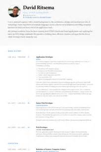 Application Developer Resume by Application Developer Resume Sles Visualcv Resume Sles Database