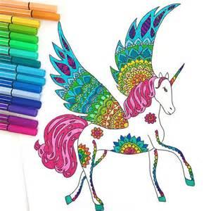 downloadbare unicorn kleurplaat pagina volwassen kleurplaten