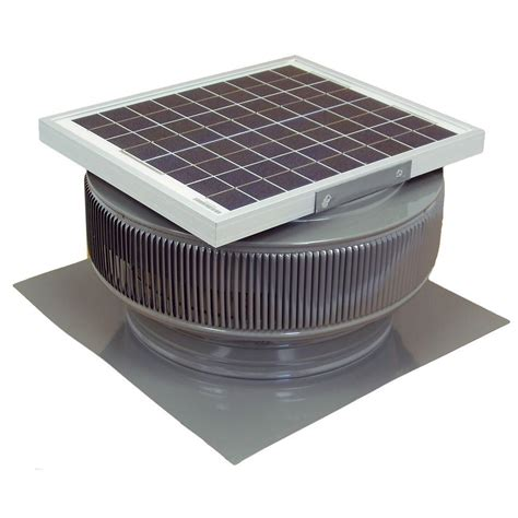 solar powered ventilation fan ventamatic 14 in industrial exhaust fan if14ups the